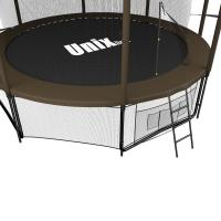 Батут UNIX line 12 ft Black&Brown (inside)_3
