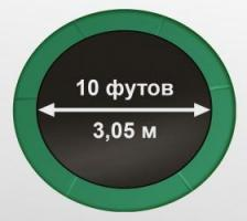 Батут Oxygen Fitness Premium 10 ft inside (Dark green)_4