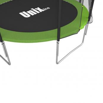 Батут UNIX line Simple 8 ft Green (outside)